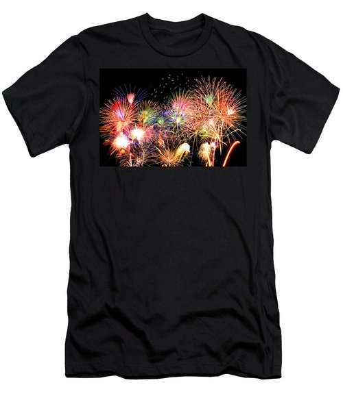 Fireworks Finale Men's T-Shirt (Athletic Fit)