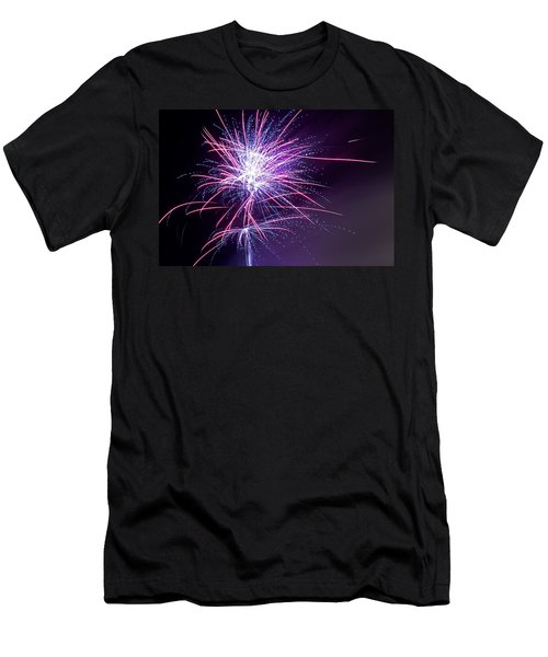 Fireworks - Purple Haze Men's T-Shirt (Athletic Fit)