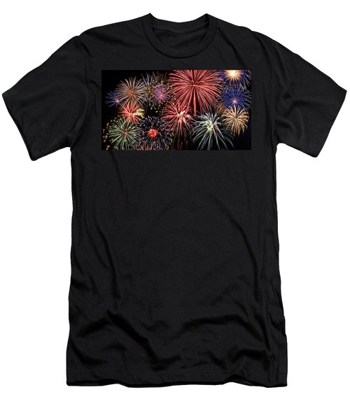 Fireworks Spectacular IIi Men's T-Shirt (Athletic Fit)