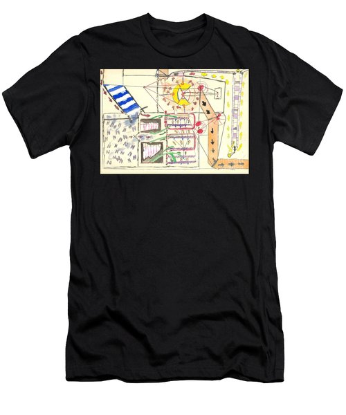 First Abstract Men's T-Shirt (Athletic Fit)