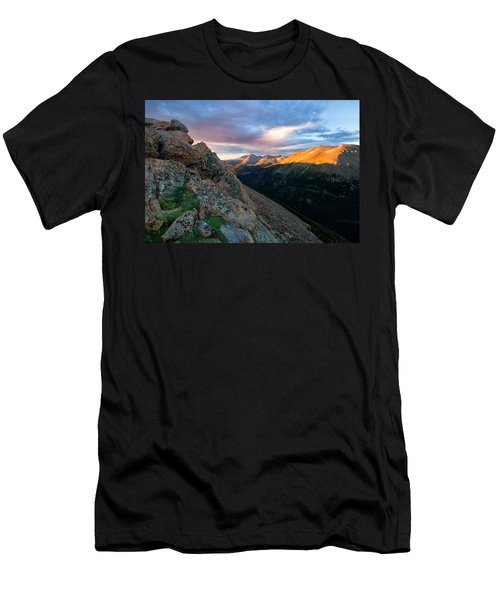 First Light On The Mountain Men's T-Shirt (Athletic Fit)