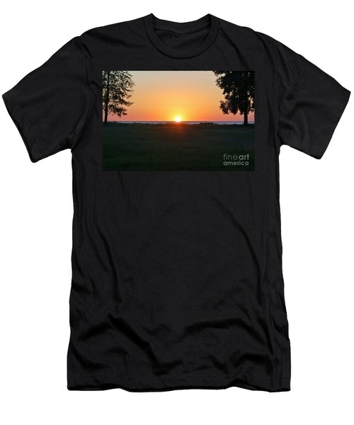 Men's T-Shirt (Slim Fit) featuring the photograph First Light by Patrick Shupert