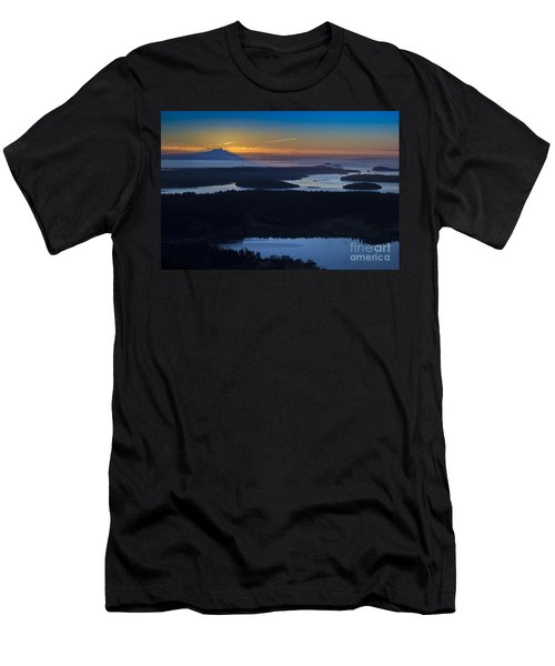 First Light Men's T-Shirt (Slim Fit) by Sonya Lang