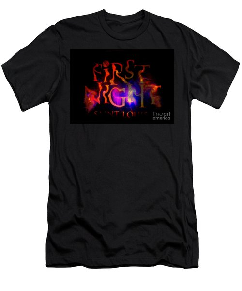 First Night Sign 2 Men's T-Shirt (Slim Fit)