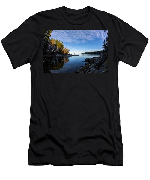 Fish Eye View Men's T-Shirt (Athletic Fit)