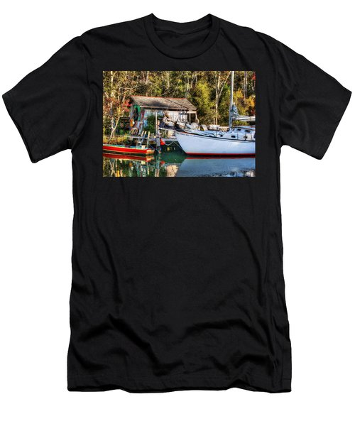 Fish Shack And Invictus Original Men's T-Shirt (Athletic Fit)