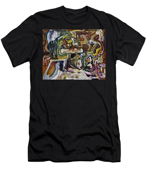Fish Supper Men's T-Shirt (Athletic Fit)