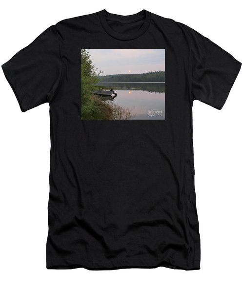 Fishing Tranquility Men's T-Shirt (Athletic Fit)