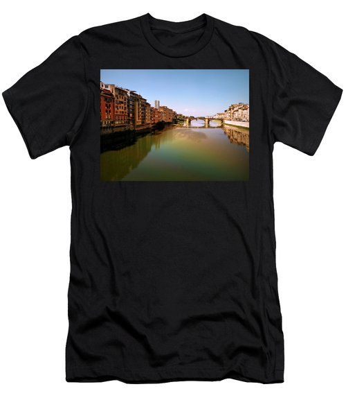 Fiume Di Sogni Men's T-Shirt (Slim Fit) by Micki Findlay