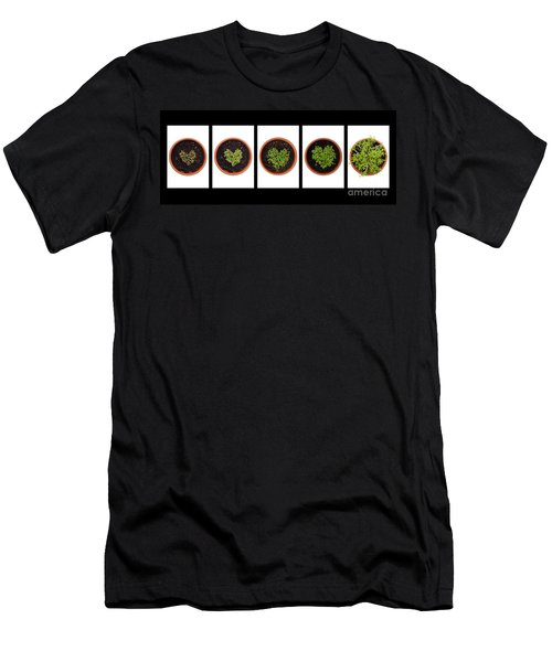 Five Days On Black Men's T-Shirt (Athletic Fit)