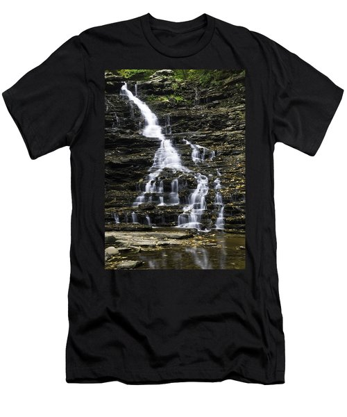 Fl Ricketts Falls Men's T-Shirt (Athletic Fit)