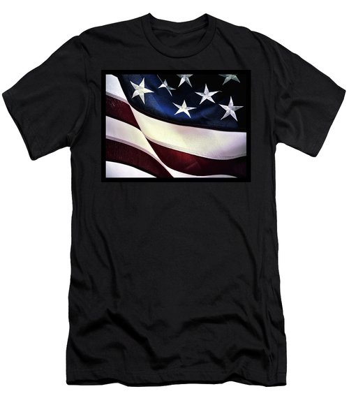 Flag Spotting At The Va Men's T-Shirt (Athletic Fit)