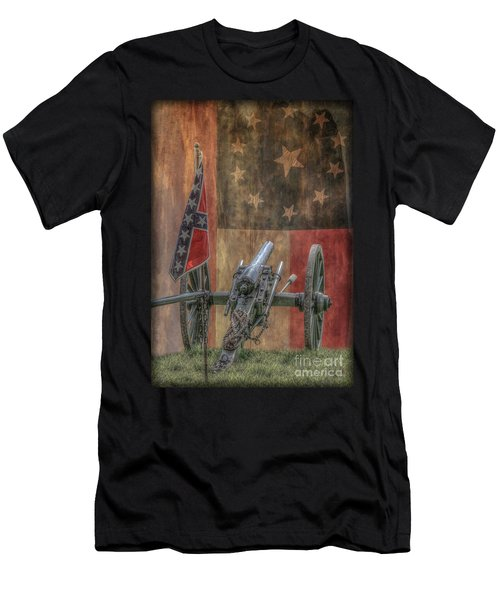 Flags Of The Confederacy Men's T-Shirt (Athletic Fit)