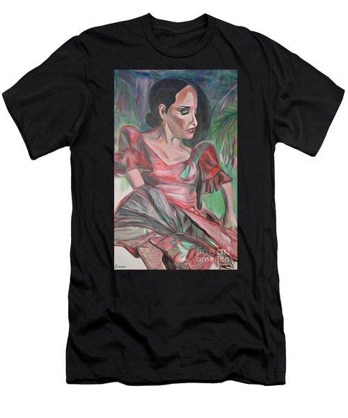 Flamenco Solo Men's T-Shirt (Athletic Fit)