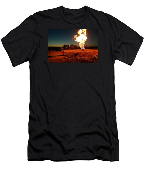 Flare And A Vacuum Truck Men's T-Shirt (Slim Fit) by Jeff Swan