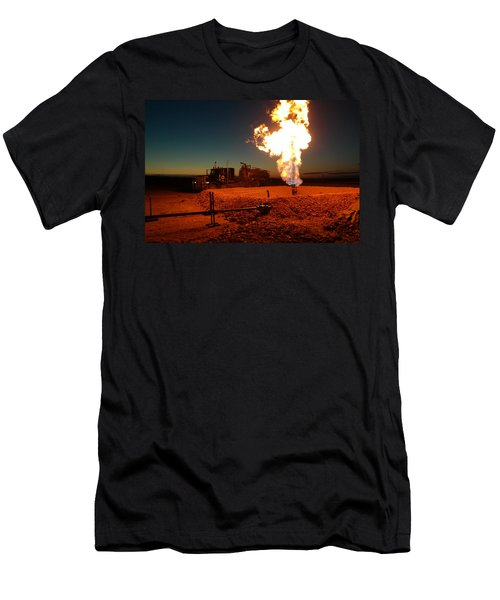 Flare And A Vacuum Truck Men's T-Shirt (Athletic Fit)