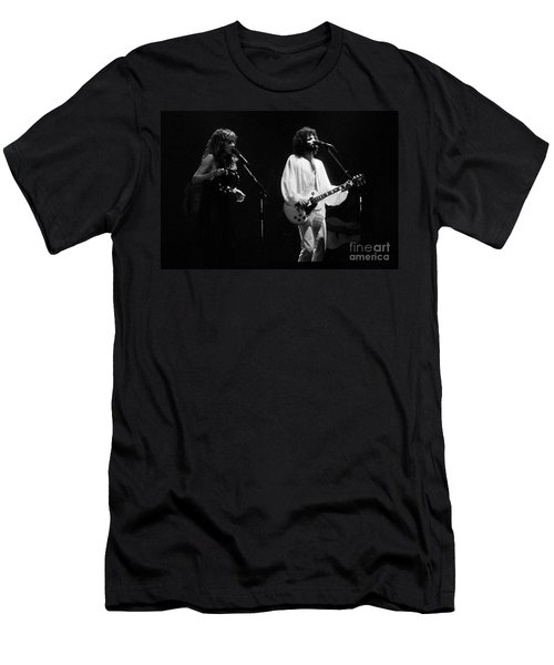 Fleetwood Mac In Amsterdam 1977 Men's T-Shirt (Athletic Fit)