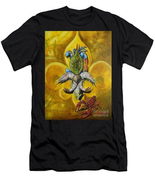 Fleur De Lis Men's T-Shirt (Athletic Fit)