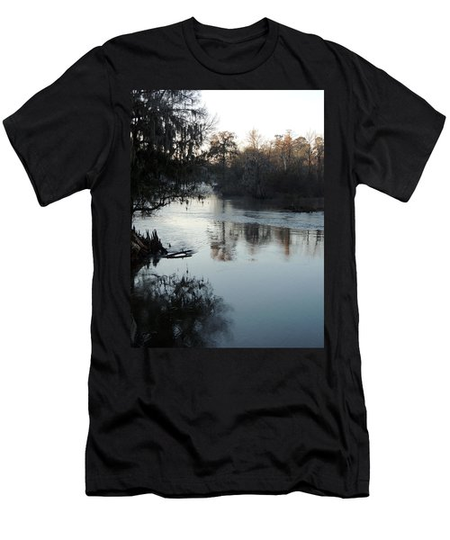 Men's T-Shirt (Slim Fit) featuring the photograph Flint River 20 by Kim Pate