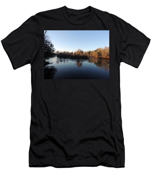 Men's T-Shirt (Slim Fit) featuring the photograph Flint River 26 by Kim Pate