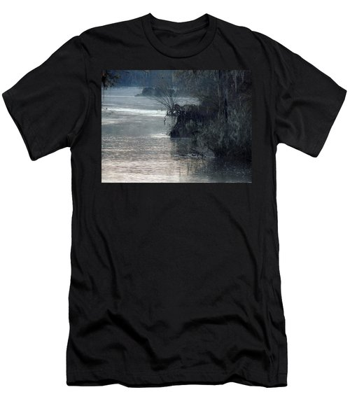 Men's T-Shirt (Slim Fit) featuring the photograph Flint River 28 by Kim Pate