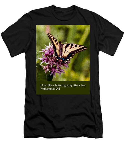 Float Like A Butterfly Men's T-Shirt (Athletic Fit)