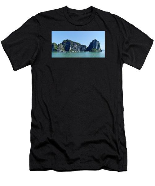 Floating Village Ha Long Bay Men's T-Shirt (Athletic Fit)