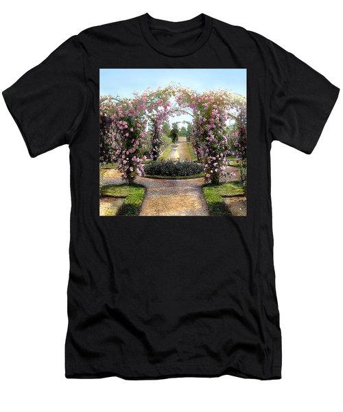 Floral Arch Men's T-Shirt (Athletic Fit)