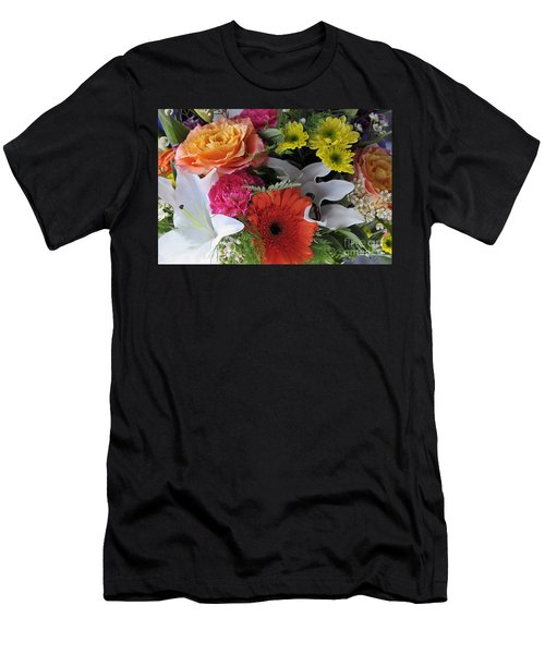 Floral Bouquet 7 Men's T-Shirt (Athletic Fit)