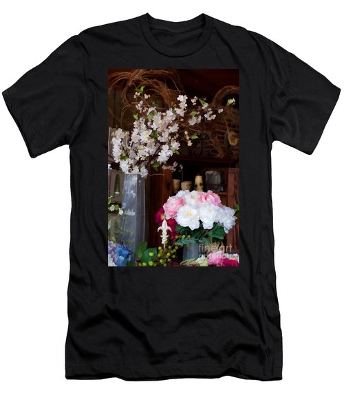 Floral Display Men's T-Shirt (Athletic Fit)