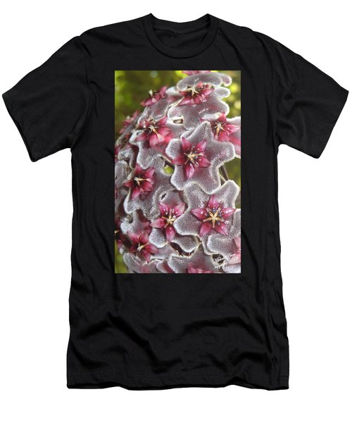 Floral Presence - Signed Men's T-Shirt (Athletic Fit)