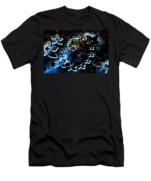 Floral Way Men's T-Shirt (Athletic Fit)