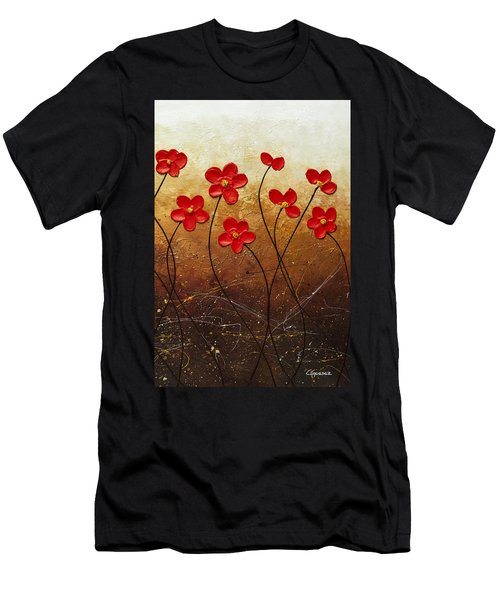 Flores De Mi Jardin 3 Men's T-Shirt (Athletic Fit)
