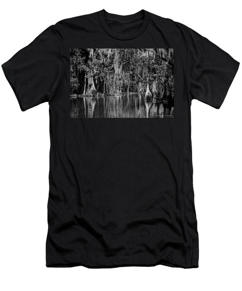 Florida Naturally 2 - Bw Men's T-Shirt (Slim Fit) by Christopher Holmes