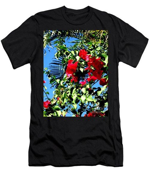 Men's T-Shirt (Slim Fit) featuring the photograph Florida Sky View by Oksana Semenchenko