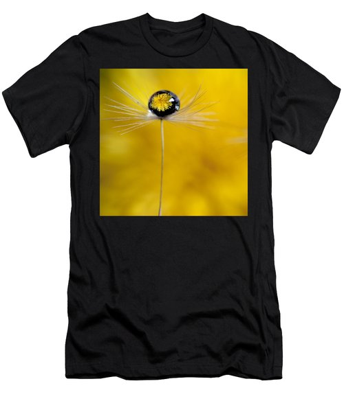 Flower And Seed Men's T-Shirt (Athletic Fit)