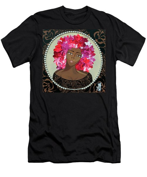 Flower Bomb Men's T-Shirt (Athletic Fit)