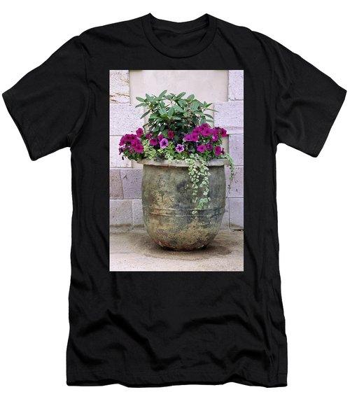 Flower Pot 3 Men's T-Shirt (Athletic Fit)