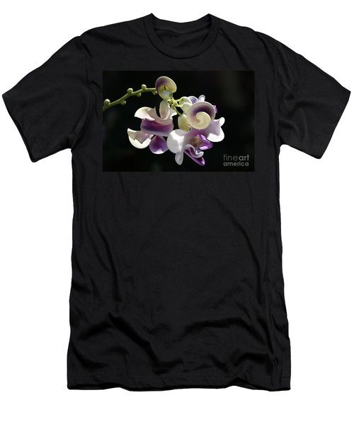 Flower-snail Flower Men's T-Shirt (Slim Fit) by Joy Watson