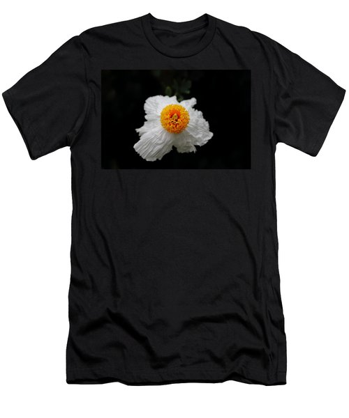 Flower Sunny Side Up Men's T-Shirt (Athletic Fit)