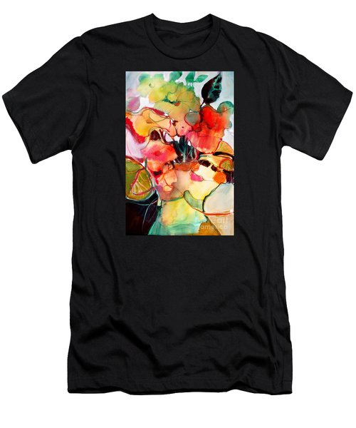 Men's T-Shirt (Athletic Fit) featuring the painting Flower Vase No. 2 by Michelle Abrams