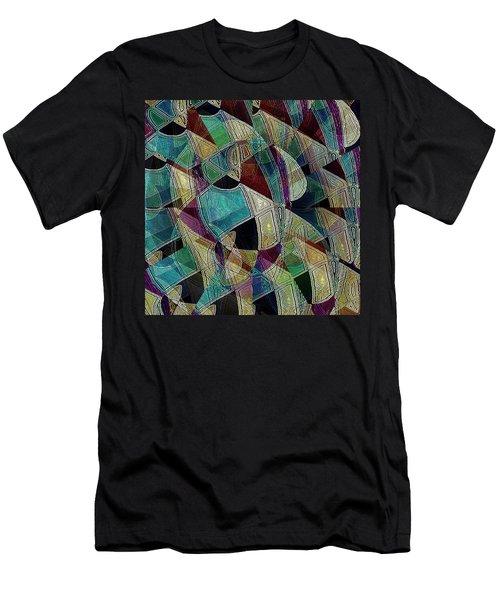 Flower Warrior Men's T-Shirt (Athletic Fit)