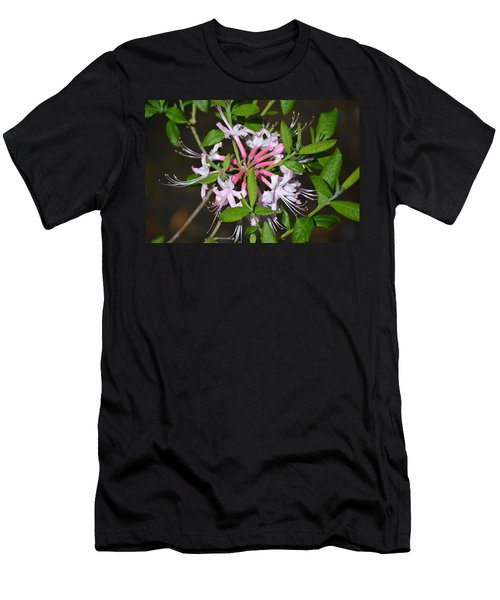 Men's T-Shirt (Slim Fit) featuring the photograph Flower Wheel by Tara Potts