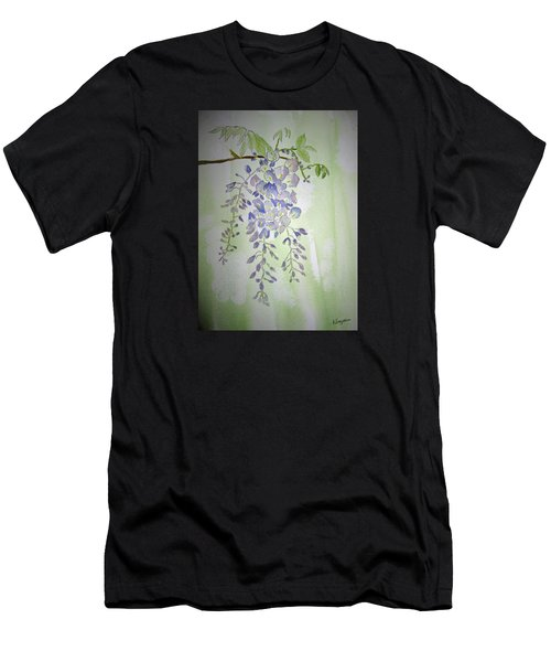 Flowering Wisteria Men's T-Shirt (Athletic Fit)