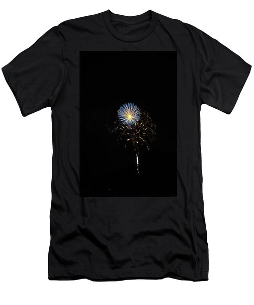 Flowering Burst Men's T-Shirt (Athletic Fit)