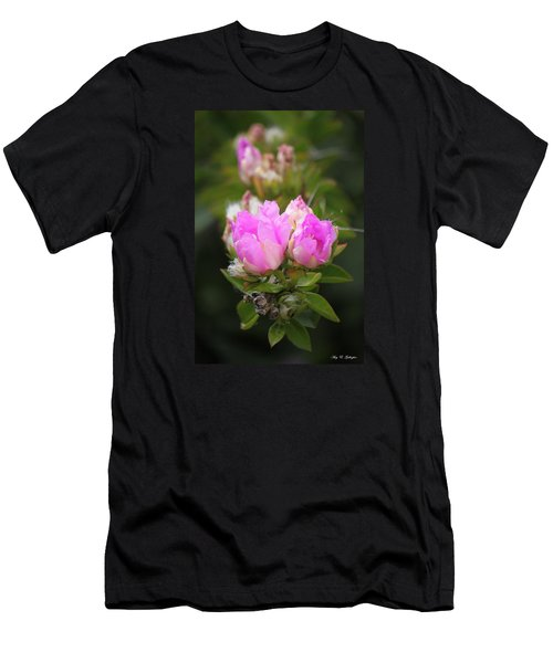 Men's T-Shirt (Slim Fit) featuring the photograph Flowers For You by Amy Gallagher