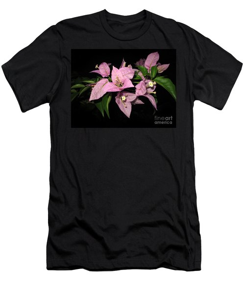 Men's T-Shirt (Slim Fit) featuring the photograph Flowers Island Lembongan by Sergey Lukashin