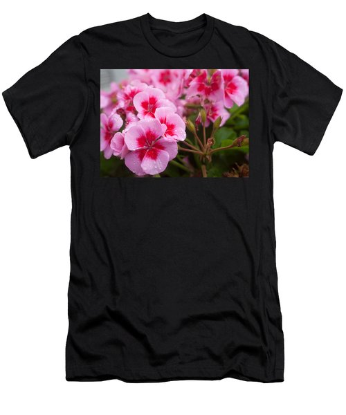 Flowers On A Rainy Sunday Afternoon Men's T-Shirt (Athletic Fit)