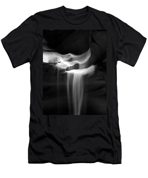 Flowing Sand In Antelope Canyon Men's T-Shirt (Athletic Fit)