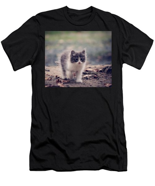 Fluffy Cuteness Men's T-Shirt (Athletic Fit)